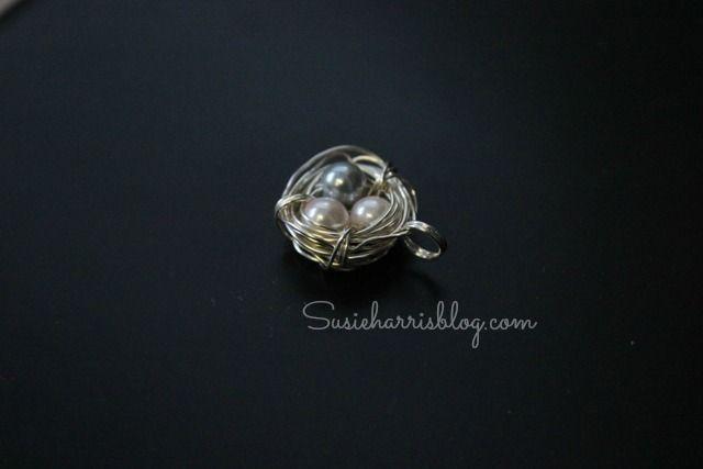 Susie Harris/Easy...DIY Nest Necklace