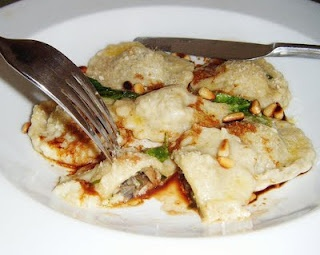 Gnocchi filled with Mushrooms with a Butter, Sage & Balsamic Sauce ...
