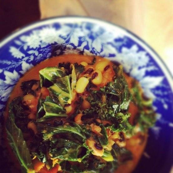 Black-eyed pea curry with kale | Good Foods | Pinterest