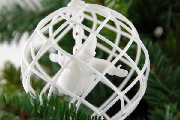 3d printed christmas decoration santa 3d printing for 3d christmas decoration
