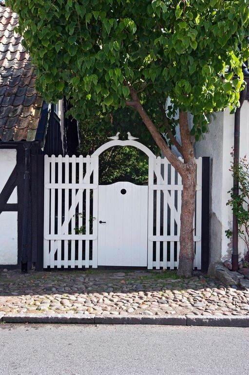 Staket  Fences and plankets  Pinterest