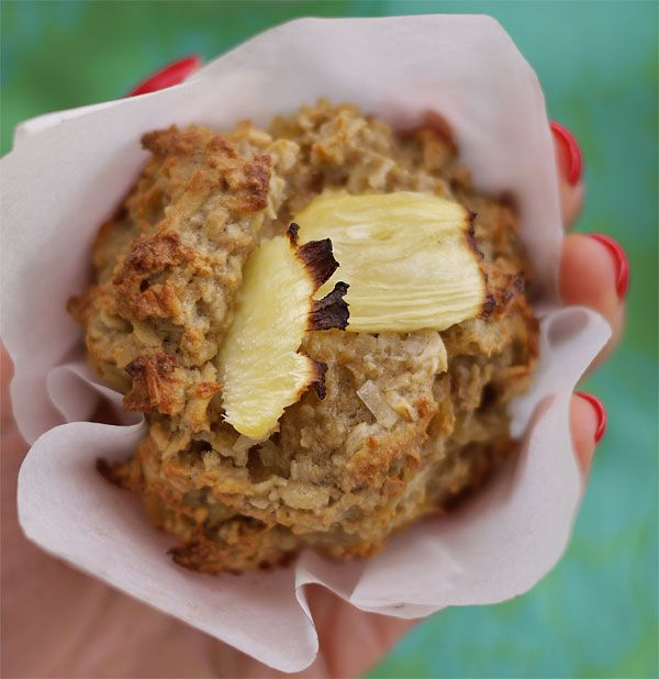 Gluten-Free Low-Fat Vegan Oatmeal Muffins Recipe — Dishmaps
