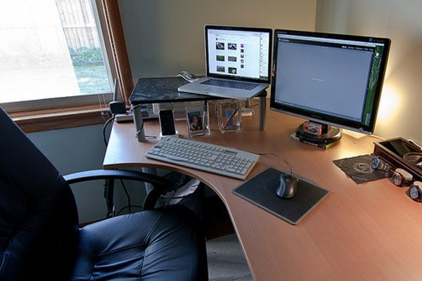home office desk set up | Home office | Pinterest