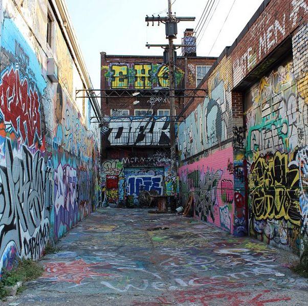 King Motors Baltimore: Graffiti Alley -- Baltimore, MD