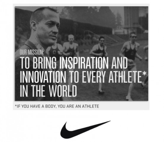 nike media objectives The key objective was to build the nike brand by developing a stronger, more  salient and  the way in which nike used media has also evolved significantly.