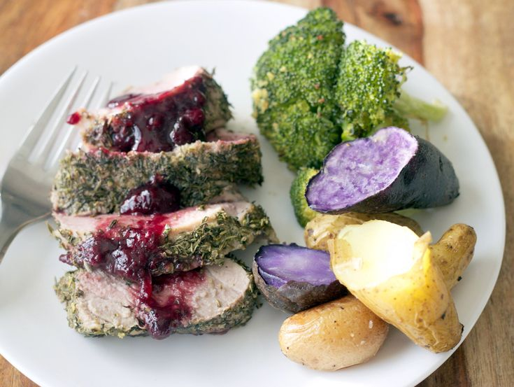 Herb Crusted Pork Tenderloin - The Adventures of MJ and Hungryman