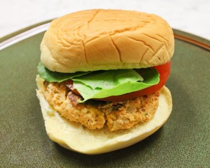 Quick and Easy Salmon Burgers - thedailymeal.com