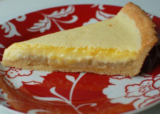 Apple and Custard Tart | baking | Pinterest