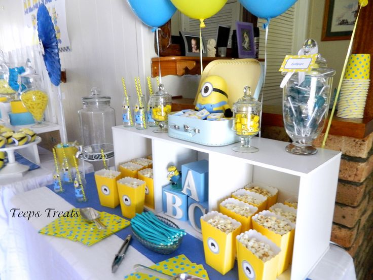 minion baby shower laura 39 s baby shower