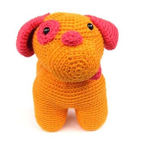 Crochet Patterns Stuffed Animals : dog Stuffed Animal Crochet Pattern Amigurumi Pinterest