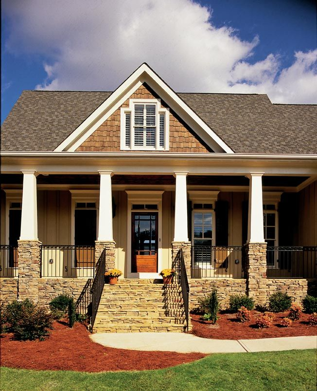 Porch Columns House Design Ideas Pinterest