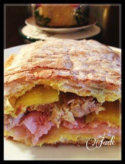 Jade's Skinny Girl Recipes: Skinny Girl Cuban Sandwich