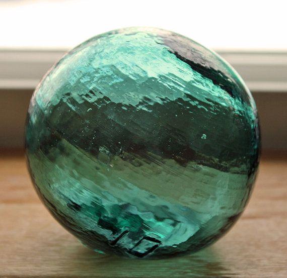 I love glass floats
