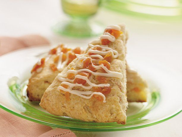 Apricot and White Chocolate Scones | Breakfast | Pinterest