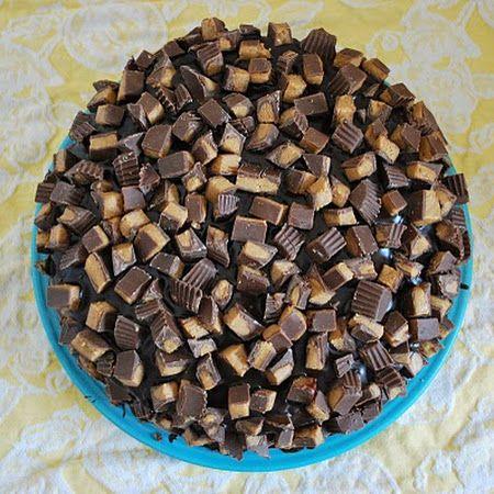 Chocolate-Peanut Butter Fun Cake Recipes — Dishmaps