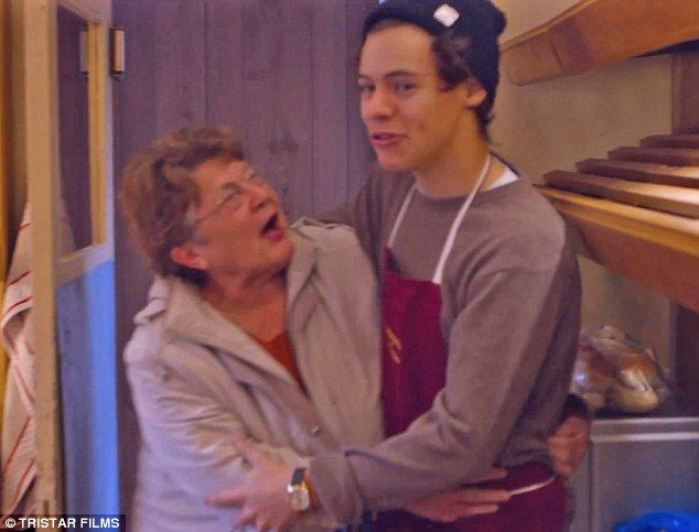 Harry's bakery work colleague Barbara, who used to pinch his bum