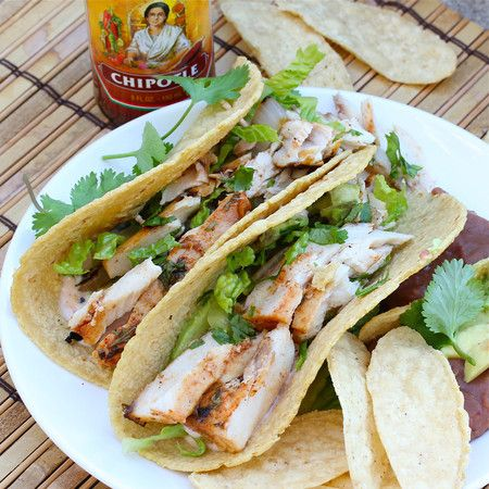 Grilled Fish Tacos- true we can't get really fresh fish here in MO ...