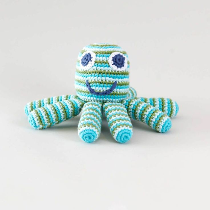 Octopus knitted toy Toys Pinterest