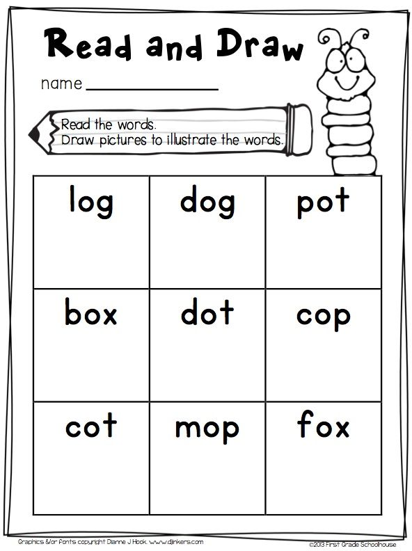Short o Word Work Activities CVC Words. Engaging and fun activities to ...