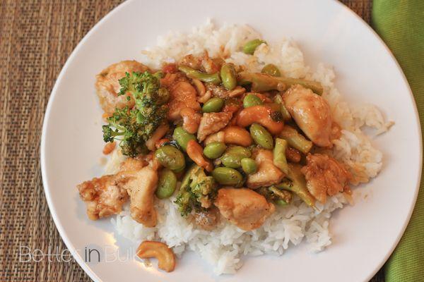 ... spicy garlic cashew chicken recipe yummly spicy cashew chicken stir