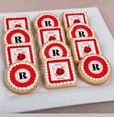 Modern Ladybug - Personalized Cookies For Birthday Parties