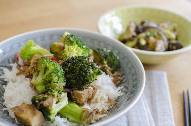 Caesar Wrap With Tofu Croutons And Broccoli Recipe — Dishmaps