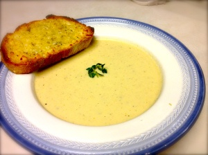 Roasted Cauliflower and Aged White Cheddar Soup. SOO YUMMYY!!!!
