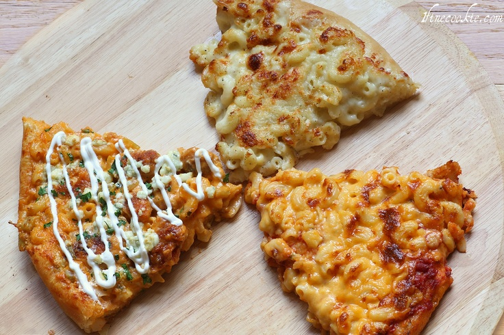 Macaroni and cheese pizza | pizza | Pinterest