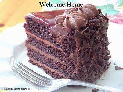 Chocolate Raspberry Layer Cake   Desserts - all things sweet   Pinter ...