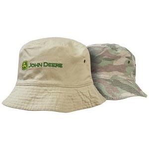 John Deere Women's Pink Camo Reversible Hat