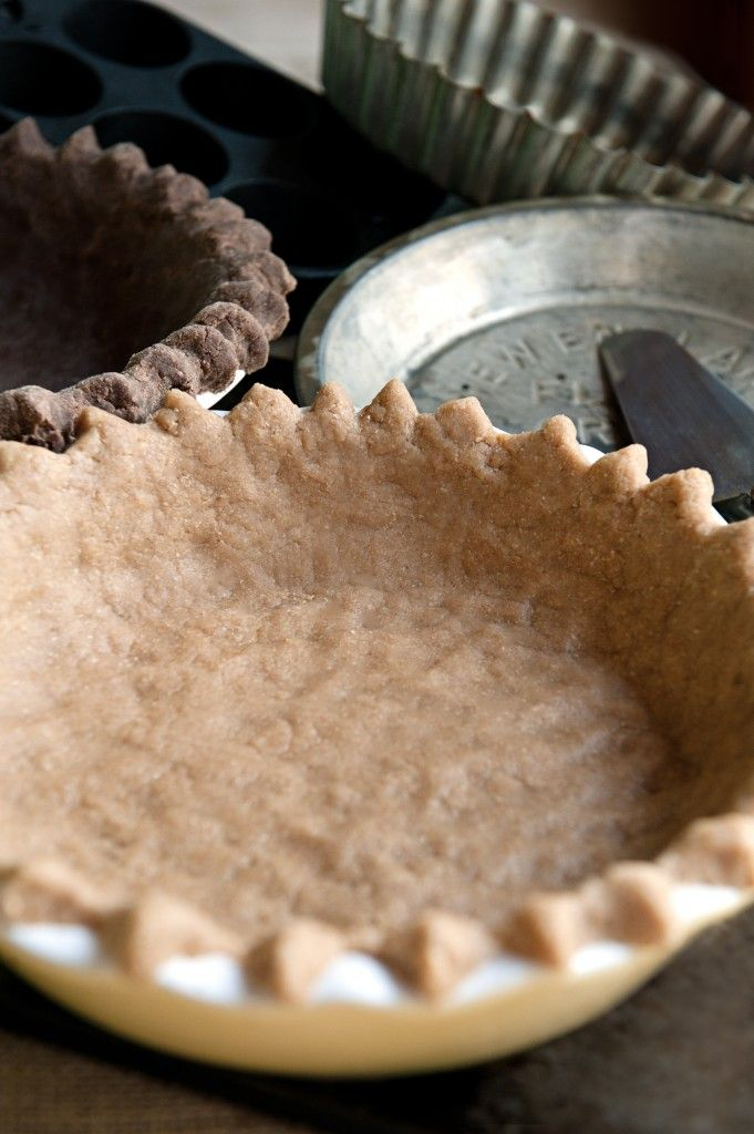 maple coconut oil whole wheat pie crust | Make Your Mouth Smile ...