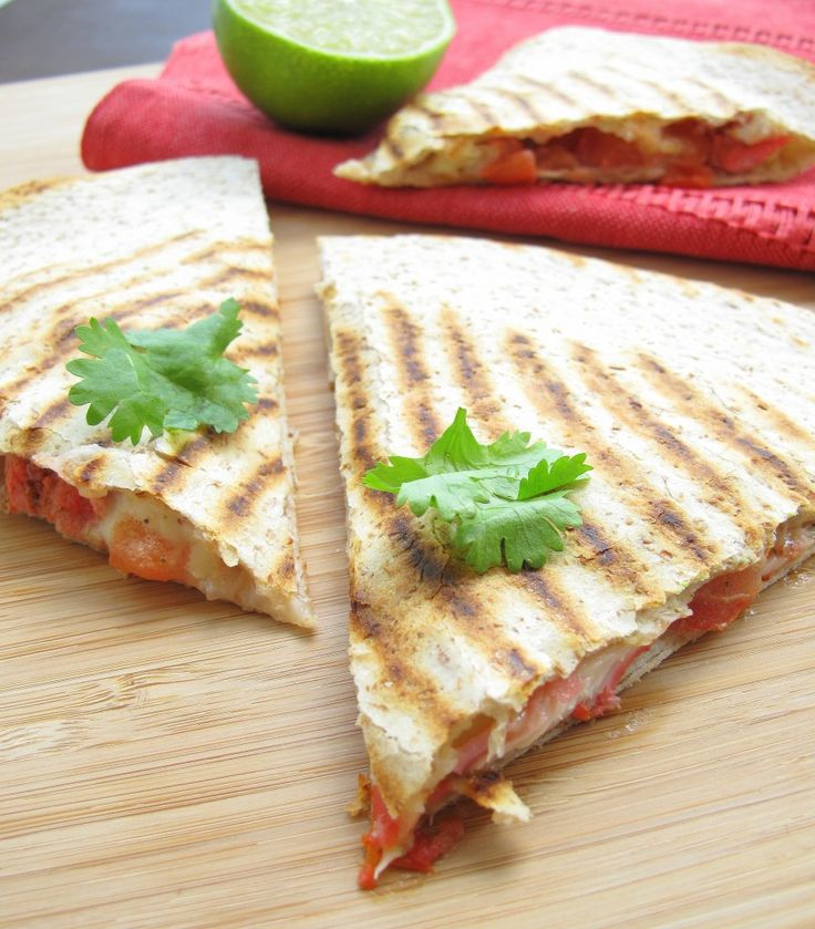 Tandoori chicken quesadillas | Food | Pinterest