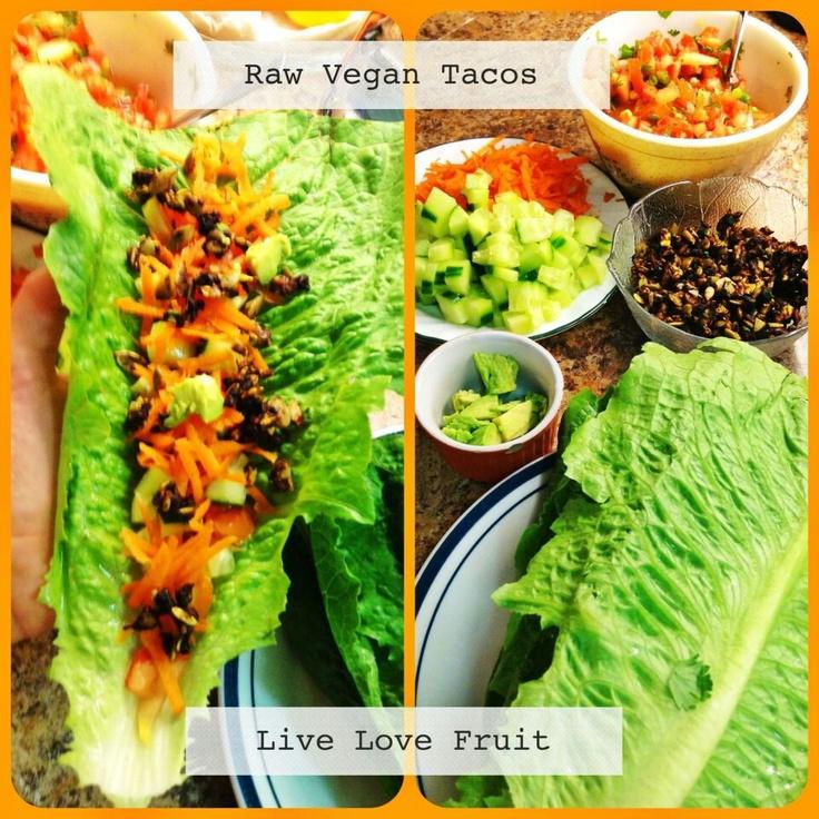 Vegan Tacos. #vegan #taco #recipes