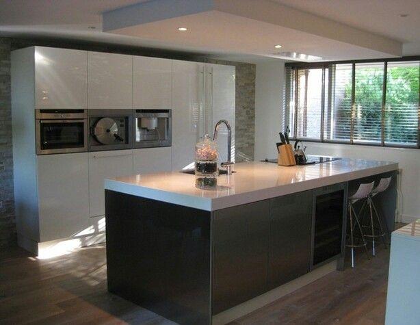Super mooie moderne keuken!  Kitchen  Pinterest