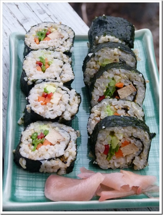 Veggie Sushi Rolls | Main Dishes | Pinterest