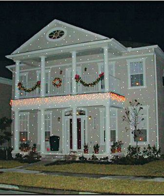 The Light Flurries Outdoor Light Show Christmas Lighting Holiday Anim ...