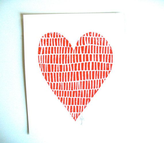 valentine heart to print