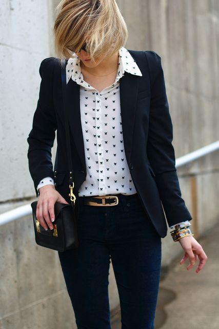coat pants with handbag