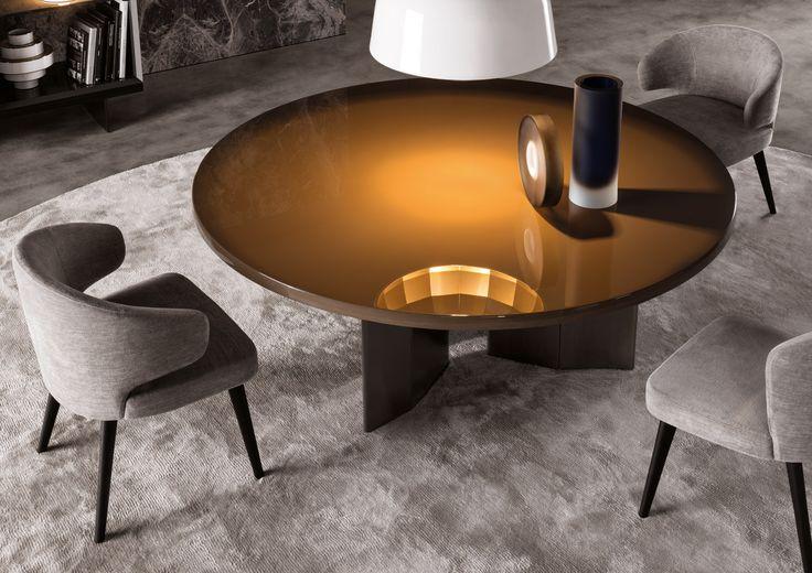 Minotti decor pinterest - Table ronde 8 personnes dimensions ...