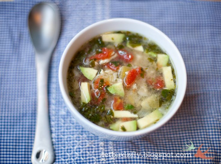 chicken and green chile soup | Soup | Pinterest