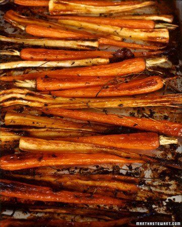 Sweet And Spicy Roasted Carrots, Parsnips, And Chickpeas Recipes ...