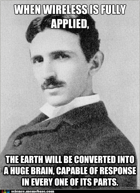 Nikola Tesla Quotes Funny Quotesgram