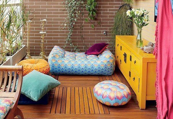 Seis terrazas peque as y con encanto home decor mis - Terrazas pequenas con encanto ...