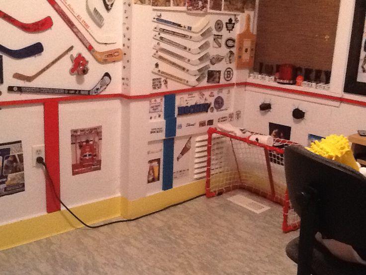 me room hockey decor scottie s bedroom pinterest