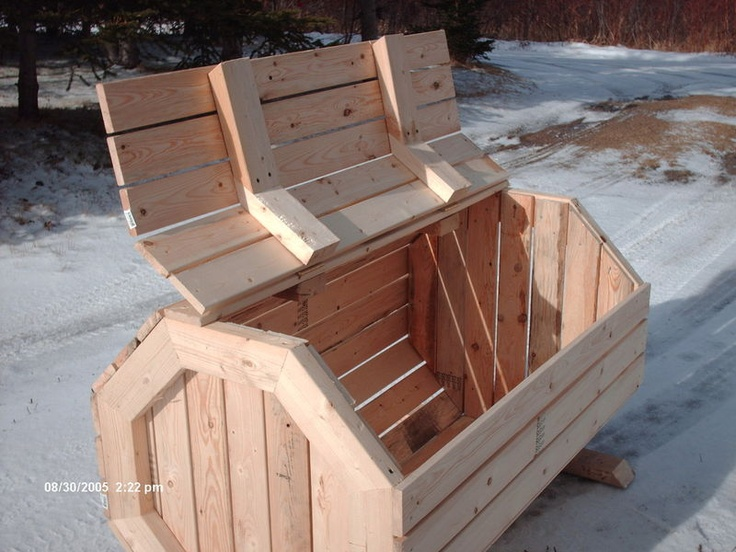 recycle box plans build octagon garbage box bin box measures