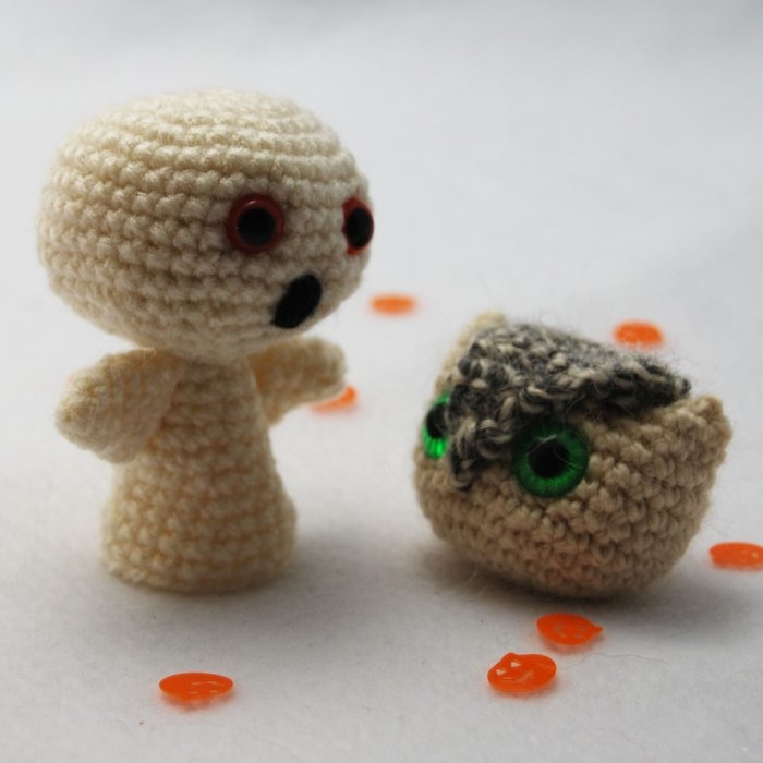 Free Amigurumi Patterns Halloween : Free Halloween Amigurumi Patterns From Commercial Yarn Brands