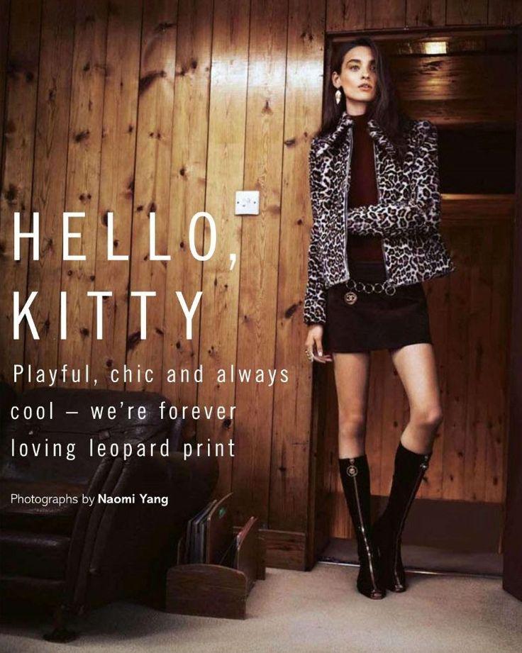Hello Kitty: #CarolinaThaler by #NaomiYang for #GlamourUK December 2014