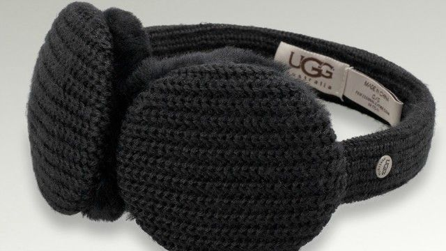 Keep warm while you listen to music // UGG Earmuff Headphones