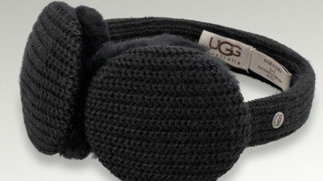 Keep warm while you listen to music // UGG Earmuff Headphones