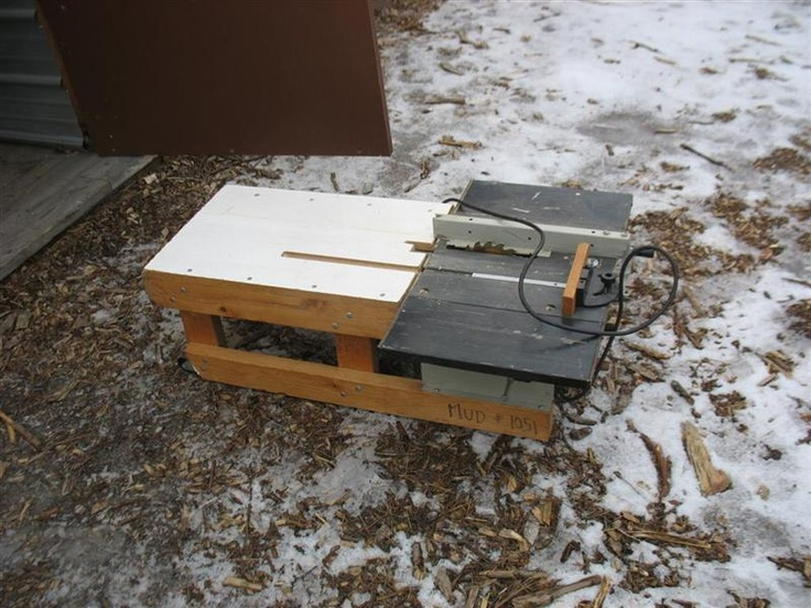 Extension Table Portable Table Saw Game Pinterest